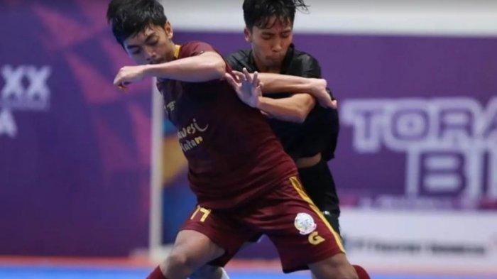 Gagal Pertahankan Keunggulan, Tim Futsal Sulsel Ditahan Imbang Jatim