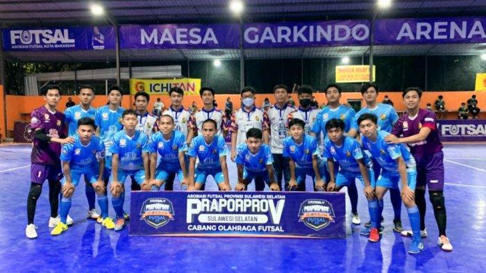 Kalahkan Tana Toraja, Tim Futsal Toraja Utara Lolos ke Porprov