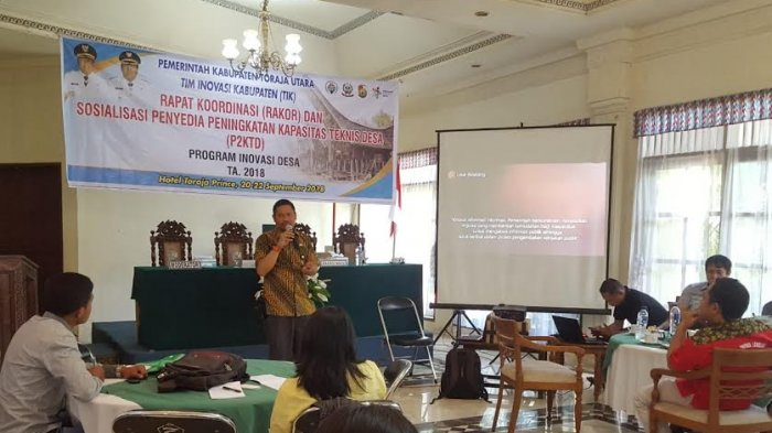 Tim Inovasi Toraja Utara Gelar Rakor dan Sosialisasi P2KTD