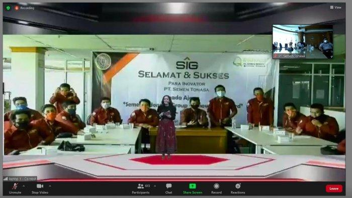 Semen Tonasa Raih Lima Juara di Ajang SIG Group Innovation Award 2020