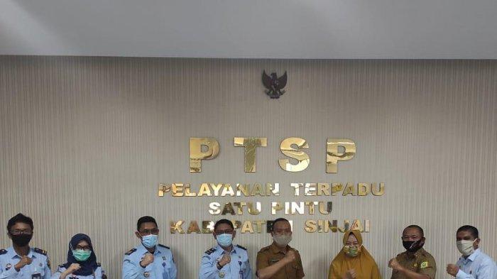 Kunjungi DPM-PTSP Sinjai, Kanwil Sulsel Monitoring Pengesahan dan Pendaftaran Badan Hukum