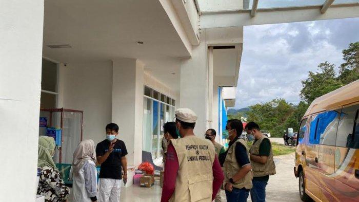 Bantu Korban Gempa, Unmul dan Pemprov Kaltim Kirim 20 Tenaga Medis ke Sulbar