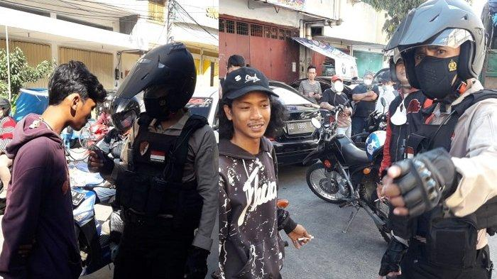 Lima Jukir Liar Terjaring Operasi Preman Polres Pelabuhan Makassar