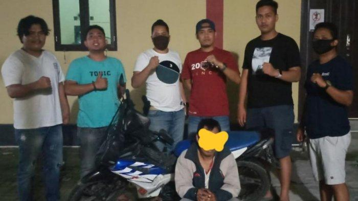 Hendak Bawa Kabur Motor Curiannya ke Makassar, Warga Majene Diringkus Polisi