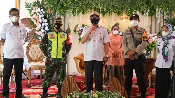 Sidrap PPKM Level III, Tim Penegak Prokes Sidak Pesta Pernikahan Warga