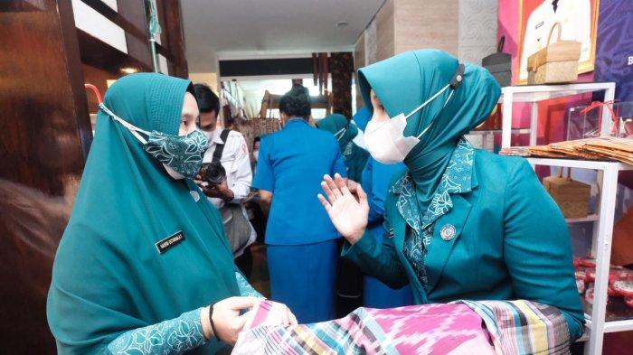 Priska Adnan Perkenalkan Produk Unggulan UMKM Gowa di HKG Sulsel