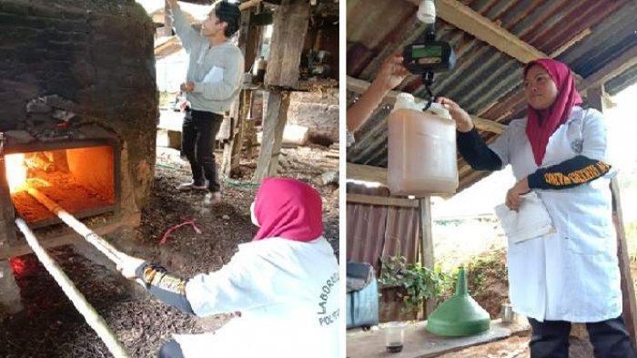 Tim Dosen Politani Pangkep Lakukan Program Pengembangan Desa Mitra ke Kelompok Tani Nilam di Barru
