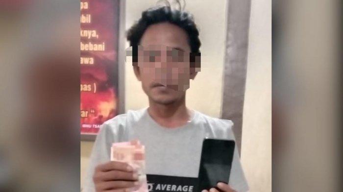 Terduga Pencuri Handphone di Selayar Ditangkap Polisi Saat Asik Nongkrong di Warkop