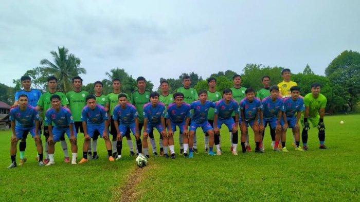 Jelang Pra Porprov di Luwu, Tim Sepakbola Luwu Utara Uji Coba