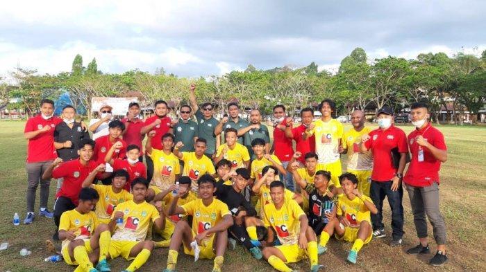 Grup 6 Pra Porprov, PSSI Luwu Timur Permalukan Toraja Utara 2-1 di Lapangan Kodim Rantepao
