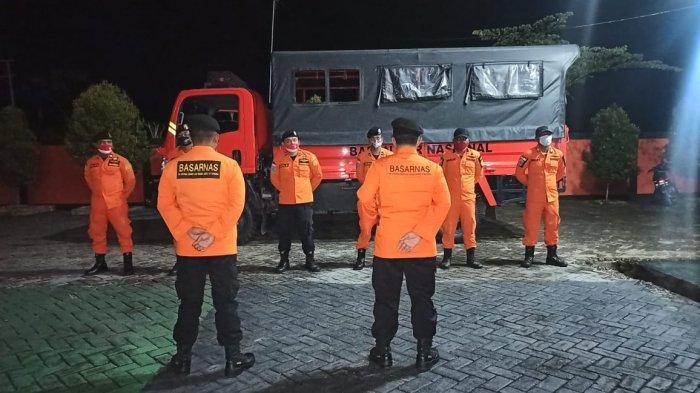 Basarnas Kerahkan Satu Tim Cari Mahasiswa Hilang di Pantai Mampie Polman