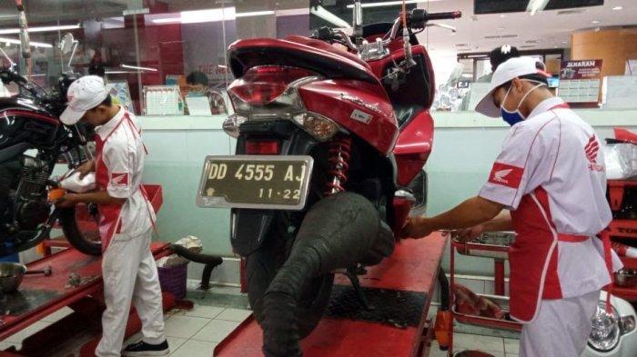 Tim SAR AHASS Sediakan Layanan Antar Jemput Service Sepeda Motor Honda