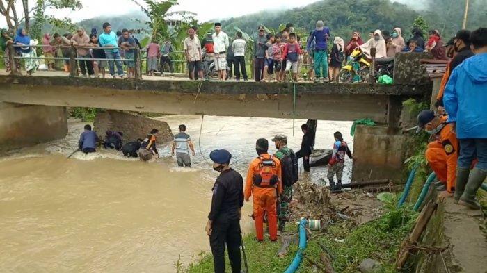 Tim SAR Gabungan Kembali Cari Abimanyu, Bocah 5 Tahun yang Terseret Arus Sungai Mambi