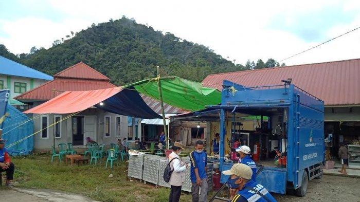 Pemkab Mamasa Dirikan Dapur Umum untuk Tim SAR Korban Lakalantas yang Hilang di Sungai