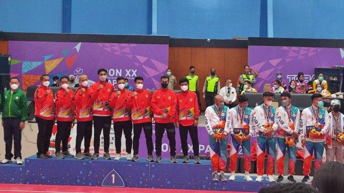 Tim Sepak Takraw Sulsel Juara Umum PON XX Papua