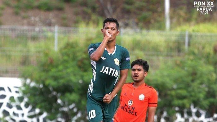 Tim Sepak Bola Sulsel Kalah 0-3 dari Tim Jawa Timur