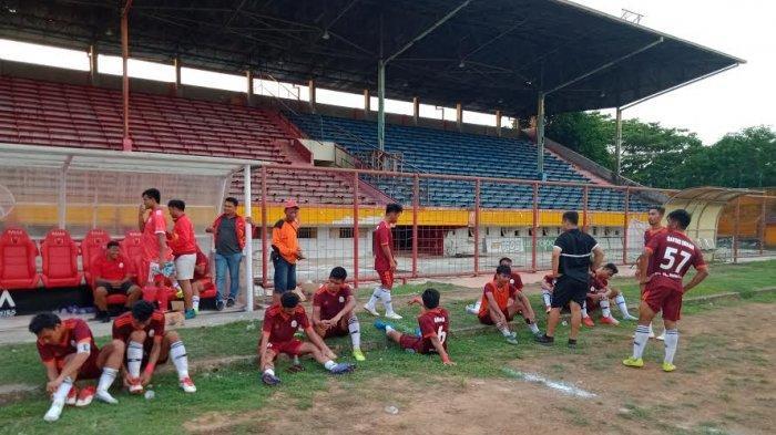 Jelang Lawan Sulbar, Pemain Sepak bola Sulsel Fokus Benahi Fisik dan Penyelesaian Akhir