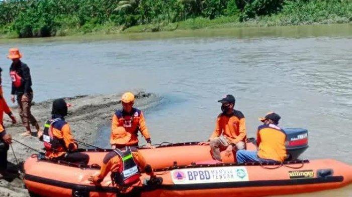 Warga Mamuju Tengah Hilang di Sungai Budong-budong