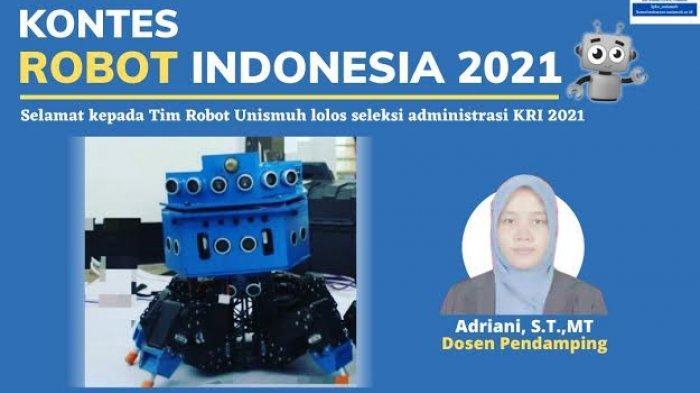 Tim Unismuh Melenggang ke Tahap Kedua Kontes Robot Indonesia