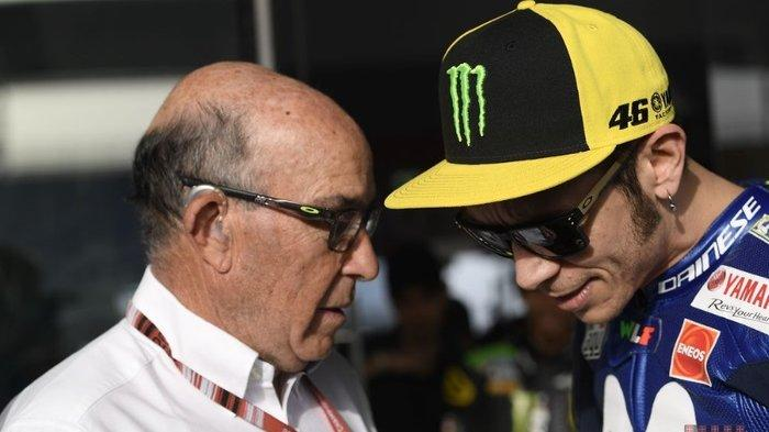 Tim Valentino Rossi Masuk Kelas Moto3 dan Moto2, Bos Dorna :  Kelas MotoGP Tidak Sekarang