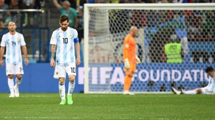 Jika Kalah dari Nigeria di Piala Dunia 2018, 14 Pemain Argentina Bakal Pensiun