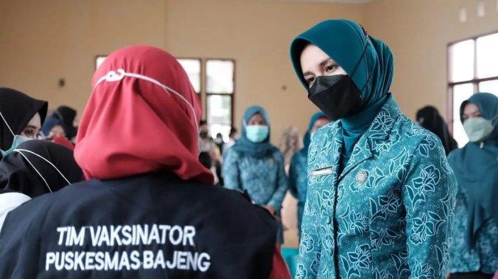 Ketua PKK Gowa Priska Paramita Adnan: Ibu Hamil Jangan Takut Disuntik Vaksinasi Covid-19