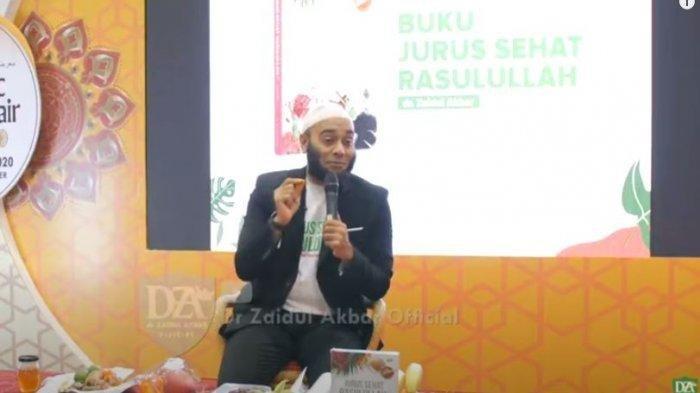 Resep Sehat dr Zaidul Akbar, Hindari 5 Jenis Makanan ini Agar Tak Mudah Terserang Penyakit