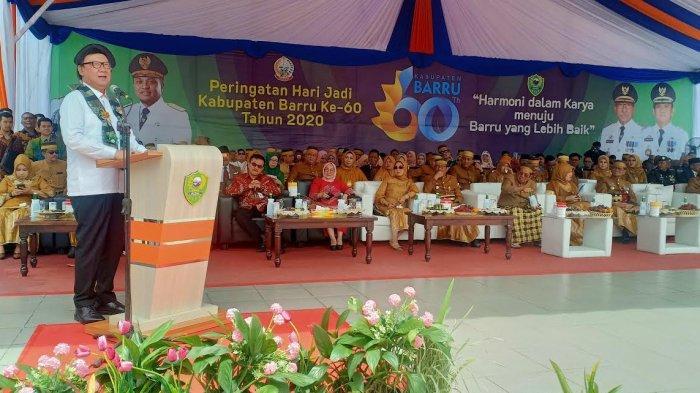 Tjahjo Kumolo Puji Mal Pelayanan Publik Barru, Sebut Layak Dijadikan Contoh di Indonesia