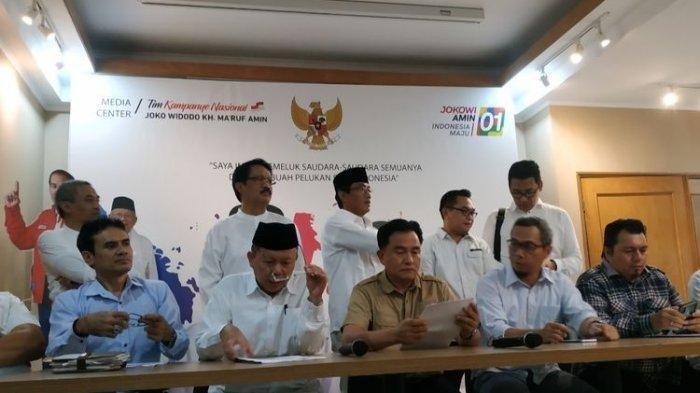 TKN Sebut Gugatan Kubu Prabowo-Sandi Salah Alamat, Pasang 33 Pengacara Kondang, Ini Daftarnya!