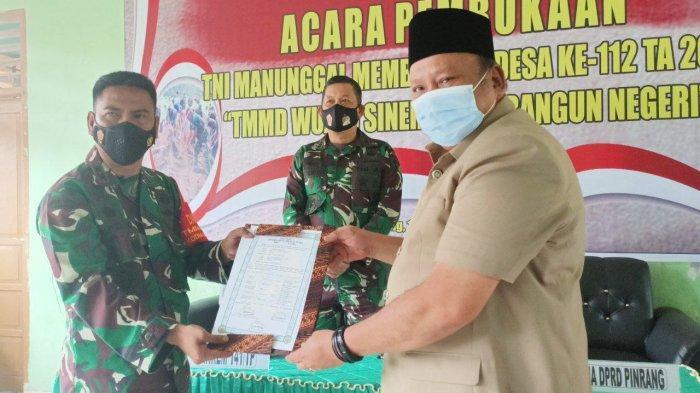 Kodim 1404 Pinrang Bangun Jalan & Drainase untuk Warga Dusun Padangloang