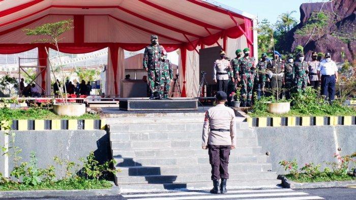 258 Polisi dan 329 Tentara Jaga Jokowi di Toraja