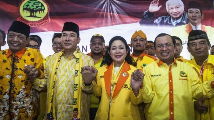 Beraninya Politisi Luwu Raya Ini Lawan Tommy Soeharto, Detik-detik Tommy Bubarkan Munaslub Berkarya