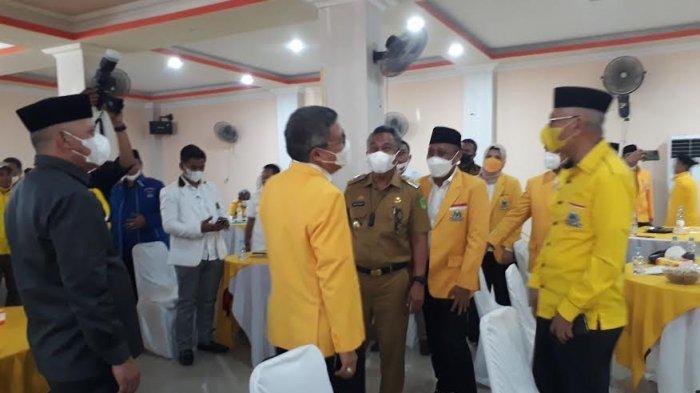 Taufan Pawe Minta Kader di Luwu Timur Tak Gembosi Partai Golkar