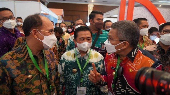 Taufan Pawe Hadiri ISCFE dan Rakernis APEKSI di Jogja