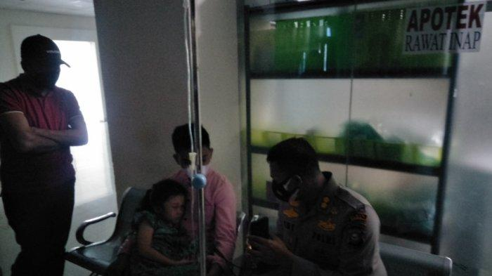 Kapolres Gowa Turun Tangan Dampingi Bocah Korban Penganiayaan di RS Syekh Yusuf