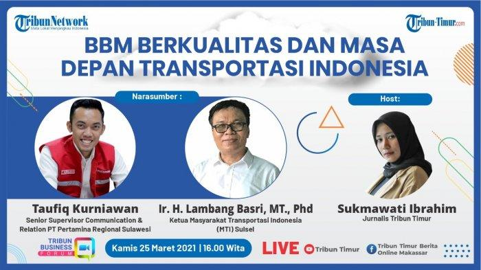 Tribun Business Forum, Kamis (25/3/2021).