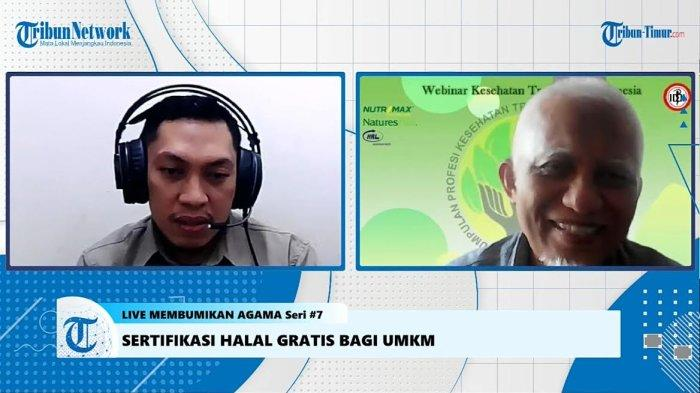 Live Membumikan Agama Seri 7, Bahas Sertifikasi Halal Gratis Bagi UMKM