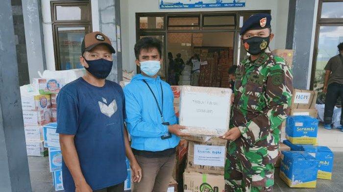 Tribun Timur Salurkan Bantuan untuk Korban Gempa Sulbar