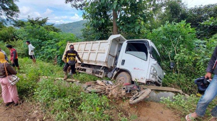 Sopir Truk yang Terlibat Laka Maut di Desa Pantilang Luwu Ditangkap Polisi