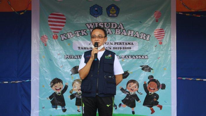 PLN Beri Bantuan Sarana Pendidikan kepada TK Bina Bahari Pulau Langkai
