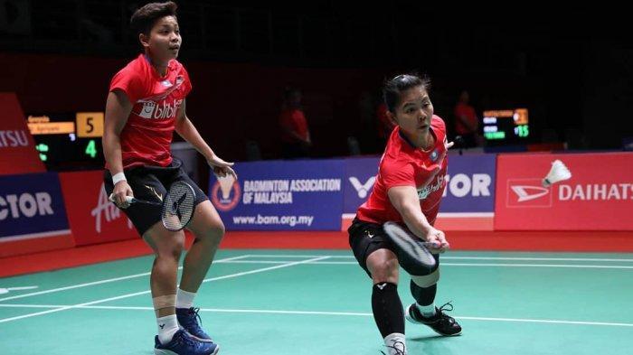 Tumbang dari Pasangan Muda Tiongkok, Greysia/Apriyani Gagal Tembus Final Malaysia Master 2020