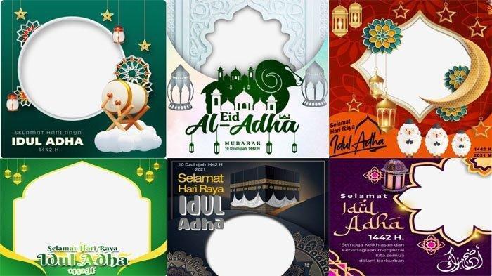 Kumpulan Link Twibbon untuk Dapatkan Kartu Ucapan Selamat Hari Raya Idul Adha 2021 Secara Gratis