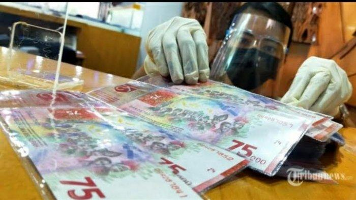 Masih Banyak yang Tanya, Bisakah Uang Pecahan Rp 75.000 Digunakan untuk Transaksi? Ini Jawabannya