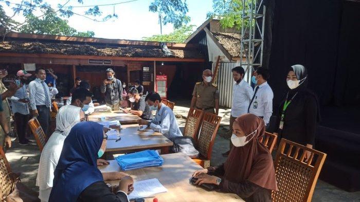 Optimistis Ekonomi Mamuju Bangkit, Zarindah-Bank Sulselbar Syariah Gelar Akad Kredit Massal