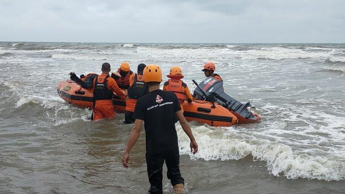 Belum Ditemukan, Pencarian Pelajar Gowa Tenggelam di Pantai Gusung Takalar Dihentikan