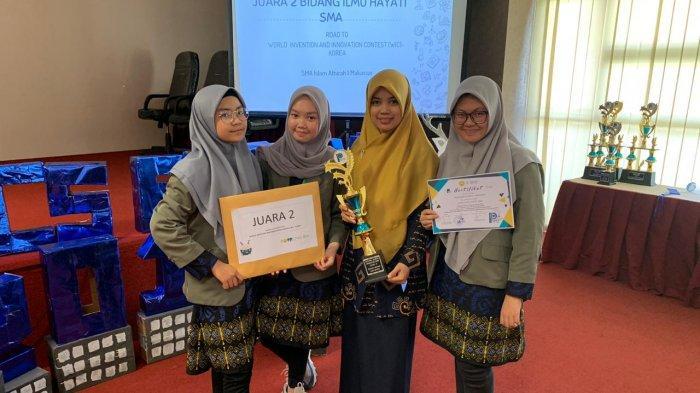 Ubah Eceng Gondok jadi Tisu, Siswa SMA Islam Athirah 1 Raih Tiket ke Korea Selatan