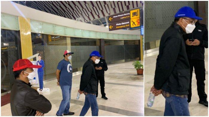 Foto: Ekspresi Gubernur Sulsel Nurdin Abdullah Saat Ditangkap KPK, Pakai Topi dan Bawa Botol