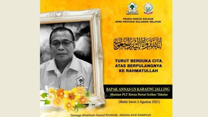 Rahman Pina: Selamat Jalan Annas GS Karaeng Jalling, Birokrat Senior Baik Hati