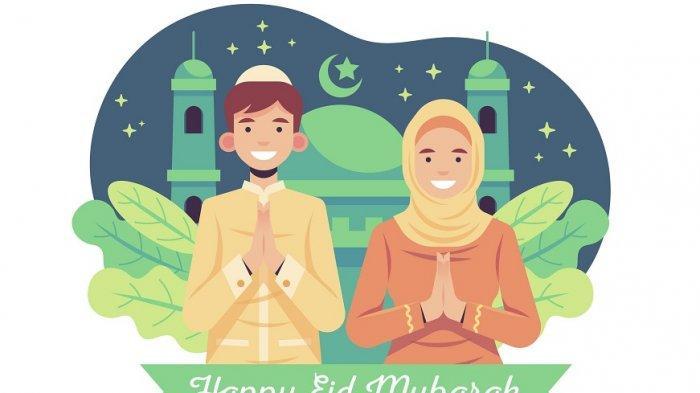 10 Kata-kata Mutiara UcapanSelamat Hari RayaIdul Fitri 1442 HDalamBahasa Inggris & Artinya