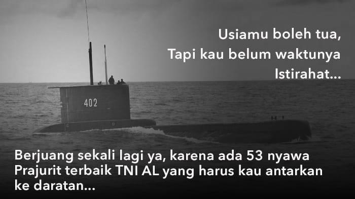 Pertanda Apa? Pray For KRI Nanggala 402 Viral, Warganet Bahas Oksigen Habis Sabtu Sebelum Sahur